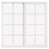 ThermaStar by Pella 72-in x 36-in 10 Series Left-Operable Vinyl Double Pane Sliding Window