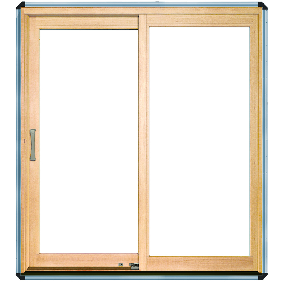 Enlarged image for Dual sliding patio doors