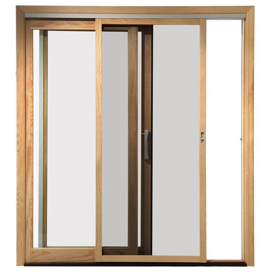 Shop pella 450 series white wood screen door common 72 for Pella window screen