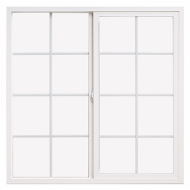ThermaStar by Pella 72-in x 36-in 10 Series Left-Operable Vinyl Double Pane New Construction Sliding Window