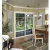 ThermaStar by Pella 10 Series 70.75-in Grilles Between the Glass White Vinyl Sliding Patio Door