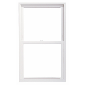 ThermaStar by Pella Vinyl Double Pane Annealed Replacement Double Hung Window (Rough Opening: 23.75-in x 61.75-in Actual: 23.5-in x 61.5-in)