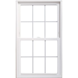 ThermaStar by Pella Vinyl Double Pane Annealed Replacement Double Hung Window (Rough Opening: 35.75-in x 53.75-in Actual: 35.5-in x 53.5-in)