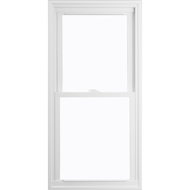 ThermaStar by Pella 15 Series Vinyl Double Pane Annealed Replacement Double Hung Window (Rough Opening: 31.75-in x 37.75-in Actual: 31.5-in x 37.5-in)