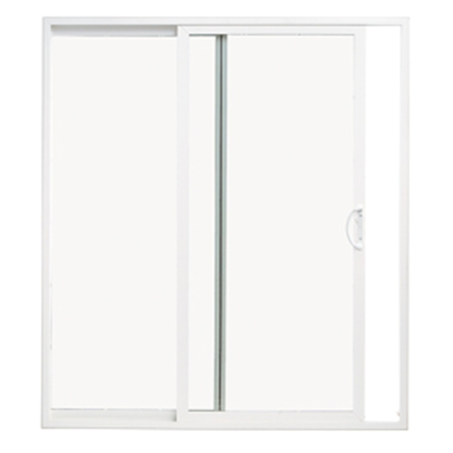 Pella 10 Series Clear Glass Vinyl Sliding Patio Door At Lowes