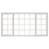 ThermaStar by Pella 10 Series Both-Operable Vinyl Double Pane Annealed New Construction Egress Sliding Window (Rough Opening: 96-in x 48-in; Actual: 95.5-in x 47.5-in)
