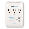 Bell'O 3-Outlet 540 Joules General Use Surge Protector with USB Charger