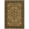 Sedia Home Anima 5-ft 3-in x 7-ft 6-in Gold Floral Area Rug