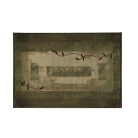 Oriental Weavers of America Holder Green Rectangular Indoor Tufted Nature Throw Rug (Common: 2 x 3; Actual: 26-in W x 39-in L)