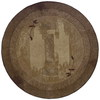 allen + roth Holder Green Round Indoor Tufted Nature Area Rug (Common: 8 x 8; Actual: 94-in W x 94-in L x 7.83-ft Dia)