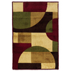 Oriental Weavers of America Hennessy 27-in x 39-in Rectangular Multicolor Geometric Accent Rug