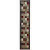 Oriental Weavers of America Sonoma 22-in W x 7-ft 6-in L Multicolor Runner