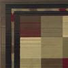 Oriental Weavers of America Sonoma Multicolor Rectangular Indoor Woven Area Rug (Common: 5 x 8; Actual: 63-in W x 90-in L)