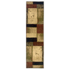Oriental Weavers of America Bedford 22-in W x 7-ft 6-in L Multicolor Runner
