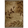 Oriental Weavers of America Aurora 22-in x 40-in Rectangular Green Accent Rug
