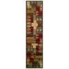 Sedia Home Tarin Green Rectangular Indoor Woven Nature Runner (Common: 2 x 8; Actual: 22-in W x 90-in L)