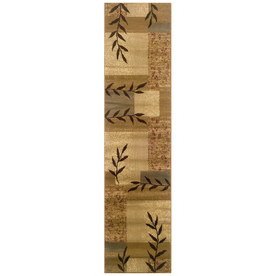 Sedia Home Vanessa Beige Rectangular Indoor Woven Nature Runner (Common: 2 x 8; Actual: 22-in W x 90-in L)