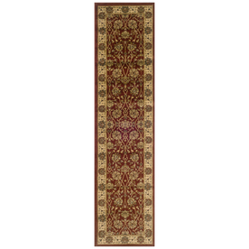 Sedia Home Helena Red Rectangular Indoor Woven Oriental Runner (Common: 2 x 8; Actual: 22-in W x 90-in L)