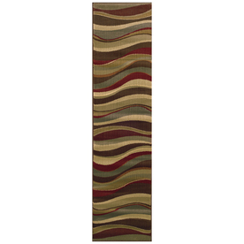 Sedia Home Parkway Multicolor Rectangular Indoor Woven Runner (Common: 2 x 8; Actual: 22-in W x 90-in L)