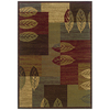 Sedia Home Tarin Green Rectangular Indoor Woven Nature Area Rug (Common: 4 x 6; Actual: 38-in W x 65-in L)