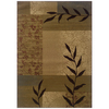 Sedia Home Vanessa 38-in x 65-in Rectangular Brown/Tan Transitional Area Rug