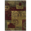 Sedia Home Madelyn 60-in x 90-in Rectangular Multicolor Transitional Area Rug