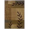 Sedia Home Vanessa Beige Rectangular Indoor Woven Nature Area Rug (Common: 8 x 10; Actual: 98-in W x 120-in L)