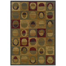 Sedia Home Pascal Rectangular Multicolor Geometric Woven Area Rug (Common: 8-ft x 10-ft; Actual: 8.166-ft x 10-ft)