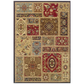 Sedia Home Taylor Rectangular Multicolor Transitional Woven Area Rug (Common: 5-ft x 7-ft; Actual: 5-ft x 7.5-ft)