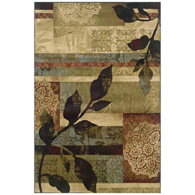 Sedia Home Makayla Multicolor Rectangular Indoor Woven Nature Area Rug (Common: 5 x 7; Actual: 60-in W x 90-in L)