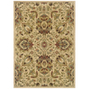 Sedia Home Paige 60-in x 90-in Rectangular Cream/Beige/Almond Floral Area Rug