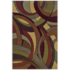 Sedia Home Evander 94-in x 120-in Rectangular Multicolor Transitional Area Rug
