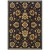 Sedia Home Audrey Rectangular Brown Floral Area Rug (Common: 8-ft x 10-ft; Actual: 7-ft 10-in x 10-ft)