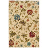 Sedia Home Layan 60-in x 90-in Rectangular Cream/Beige/Almond Floral Area Rug