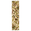 Oriental Weavers of America Isabella 22-in W x 7-ft 6-in L Cream Runner