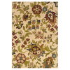 Oriental Weavers of America Isabella 46-in x 65-in Rectangular Cream/Beige/Almond Floral Area Rug