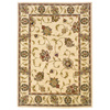 Oriental Weavers of America Addison 46-in x 65-in Rectangular Cream/Beige/Almond Floral Area Rug