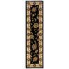 Oriental Weavers of America Addison Black Rectangular Indoor Woven Nature Runner (Common: 2 x 8; Actual: 22-in W x 90-in L)