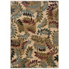 Sedia Home Olivia 38-in x 65-in Rectangular Cream/Beige/Almond Floral Area Rug