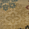 Sedia Home Lacy Gold Rectangular Indoor Woven Nature Area Rug (Common: 4 x 6; Actual: 38-in W x 65-in L)
