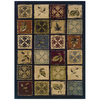 Sedia Home Campbell 94-in x 120-in Rectangular Blue Transitional Area Rug