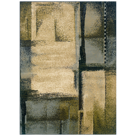 Sedia Home Riley Blue Rectangular Indoor Woven Area Rug (Common: 8 x 10; Actual: 94-in W x 120-in L)