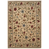 Sedia Home Kaylee 60-in x 87-in Rectangular Cream/Beige/Almond Floral Area Rug