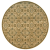 Oriental Weavers of America Serenity 7-ft 8-in x 7-ft 8-in Round Beige Transitional Area Rug