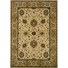 Oriental Weavers of America Revival 118-in x 153-in Rectangular Cream/Beige/Almond Floral Area Rug