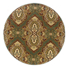 Oriental Weavers of America Ryman 7-ft 8-in x 7-ft 8-in Round Multicolor Transitional Area Rug
