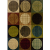 Oriental Weavers of America Dylan 3-ft 10-in x 5-ft 5-in Rectangular Multicolor Geometric Area Rug