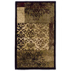 allen + roth Harrisburg 22-in x 39-in Rectangular Multicolor Transitional Accent Rug