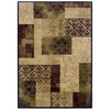allen + roth Harrisburg 7-ft 8-in x 10-ft 10-in Rectangular Beige Transitional Area Rug