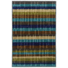 Style Selections Riley 30-in x 46-in Rectangular Blue Transitional Accent Rug